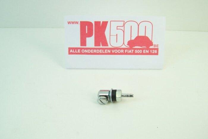 Gicleur chromé Fiat500 - Fiat126