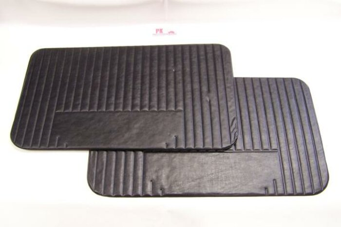 Set panneaux porte noir Fiat500L