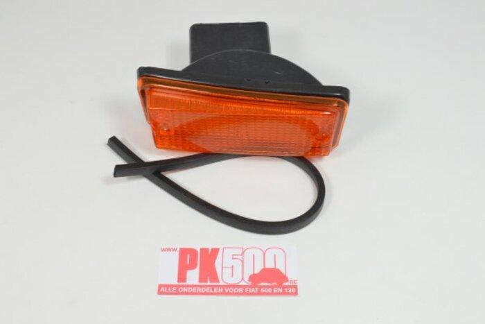 Clignoteur avant droite orange Fiat126