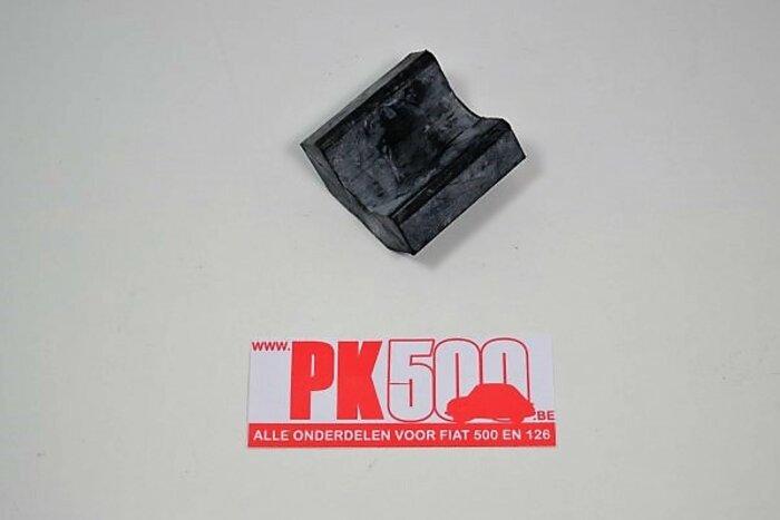 Tampon caoutchou supérieur de ressort à lames Fiat600DE