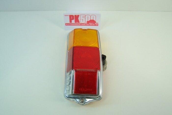 Achterlichtglas rond links Fiat500