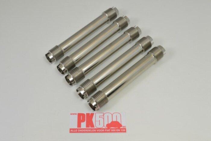 Set tubes de tige culbuteur, incl.joints Fiat500 - Fiat126