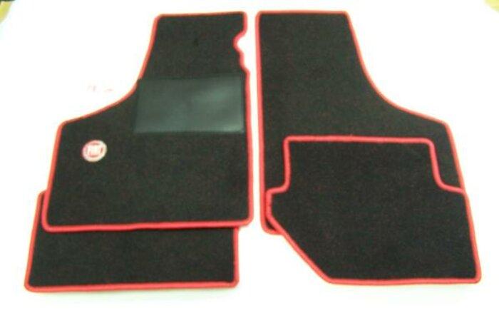 Tapis de sol 'Fiat' rouge