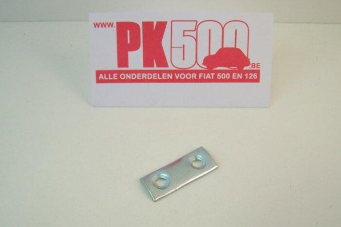 Plaquette sangle de porte Fiat500D/Gia