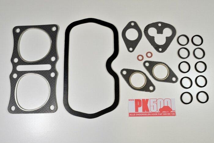 Cilinderkop pakkingsset 500cc Fiat500Gia