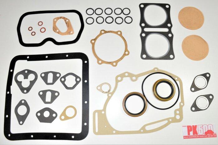 Pochette complète joints moteurs 500cc Fiat500Gia