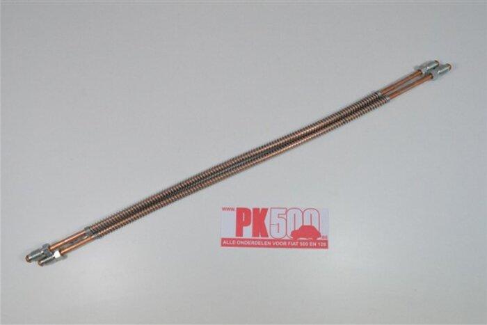 Tuyaux de frein cuivre arrière 430mm