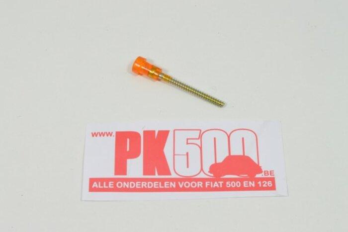Vis plastic orange 48mm Fiat126