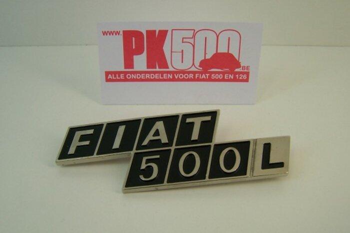 Emblème arrière metal 'Fiat500L'