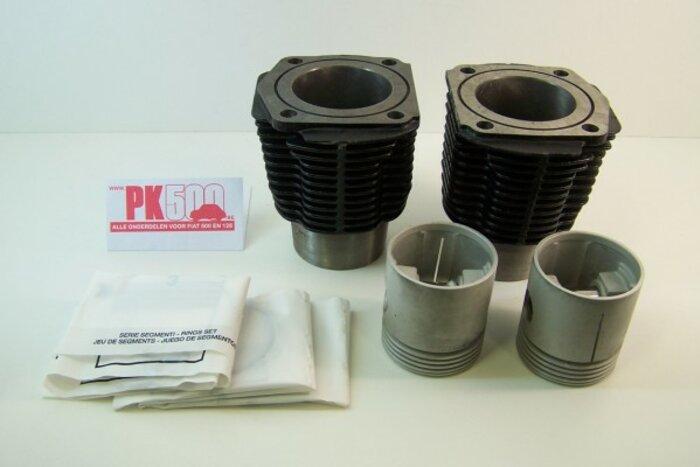 Cylindres et segments 500cc 67,40mm Fiat500FL