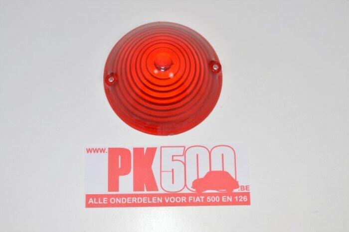Glas knipperlicht voorzijde rood Fiat500ND