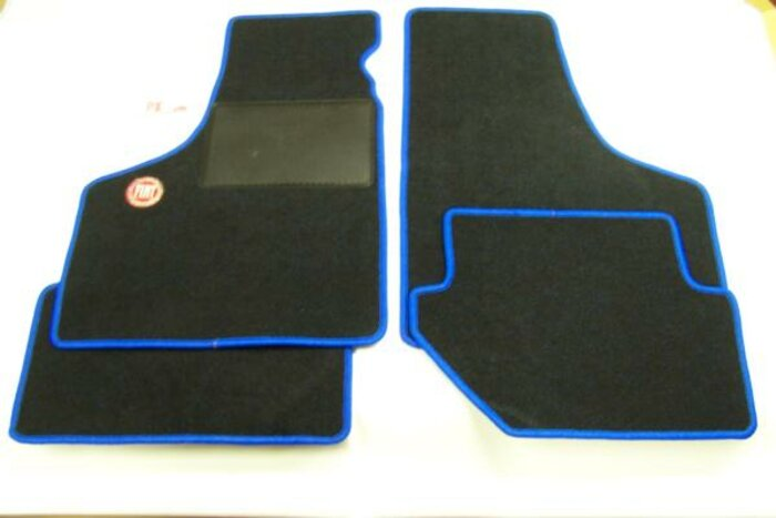Tapis de sol 'Fiat' bleu