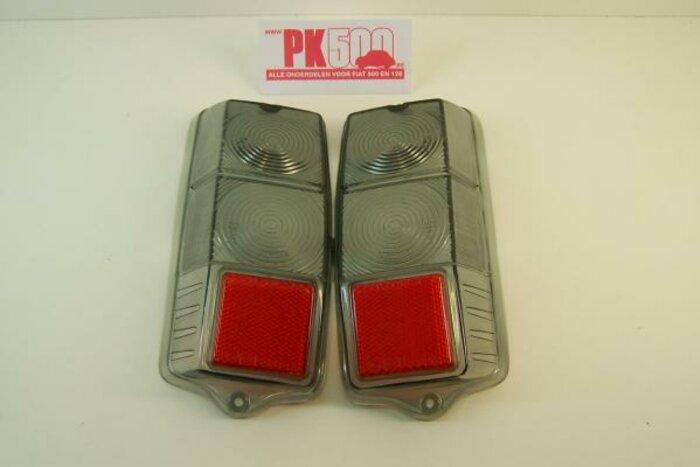 Verres feu arrière smoke Fiat500
