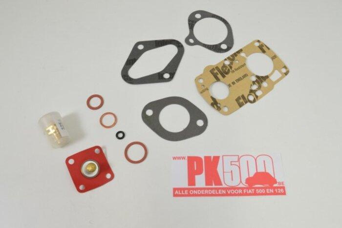 Revisieset Carbu Solex 28PIB 3 Fiat600