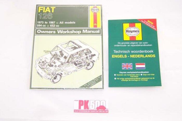 Haynes livre - anglais Fiat126