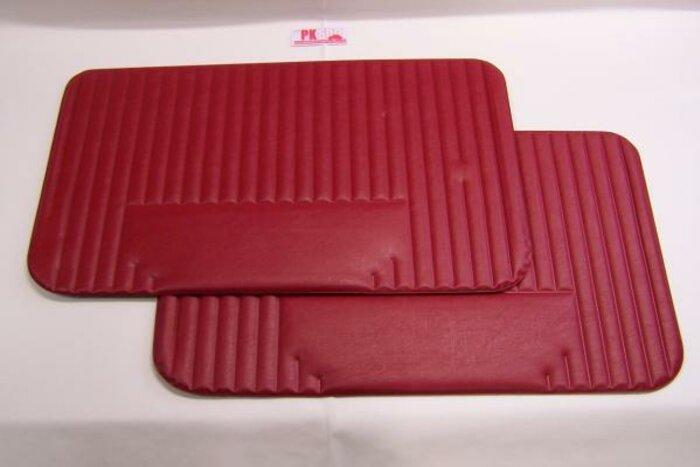 Set deurpanelen rood Fiat500L