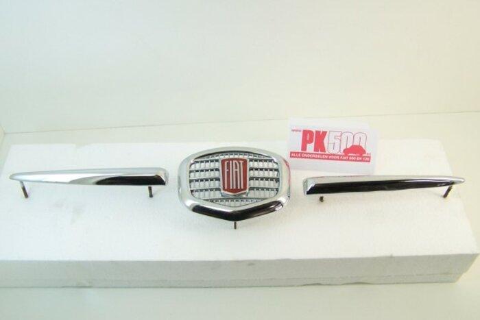 Emblème avant metal Fiat500NDF