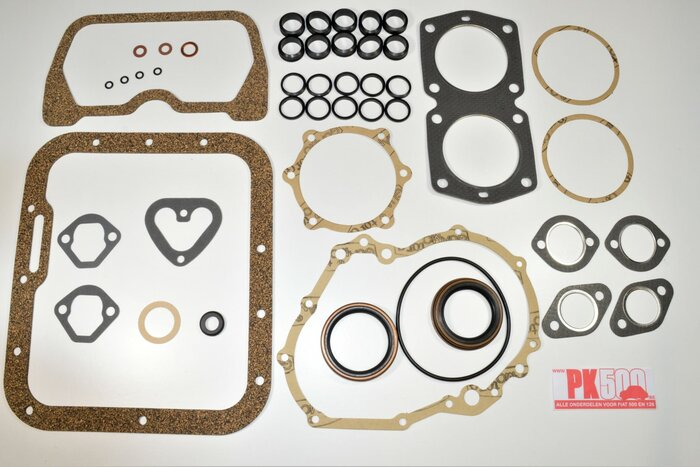Pochette complète joints moteurs 600cc Fiat500R - Fiat126