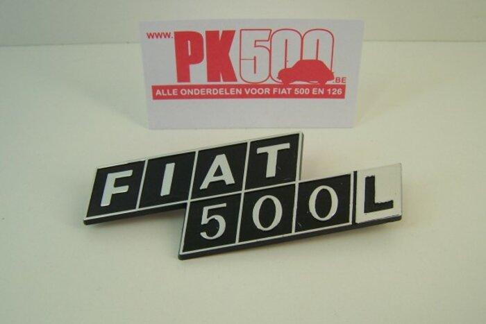 Achterembleem 'Fiat500L'