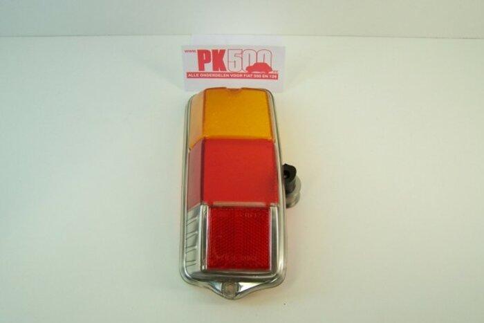 Verre feu arrière plat gauche Fiat500