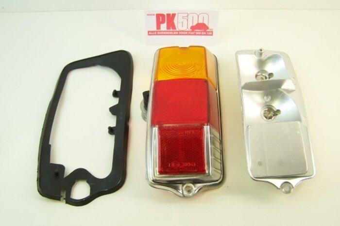 Achterlicht rond compleet rechts (b-kw) Fiat500