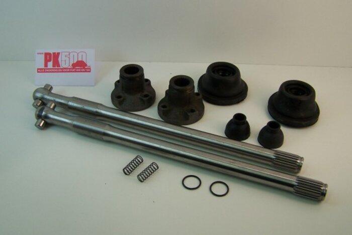 Set arbres de roues complets Fiat126-Fiat126bis-Fiat126P
