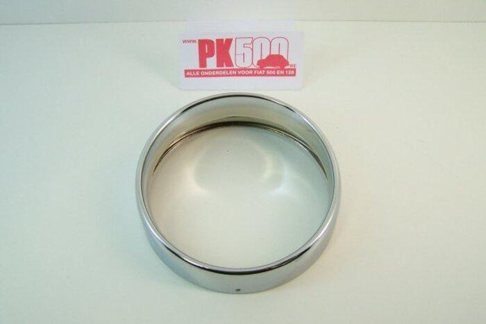 Koplampring chroom Fiat500