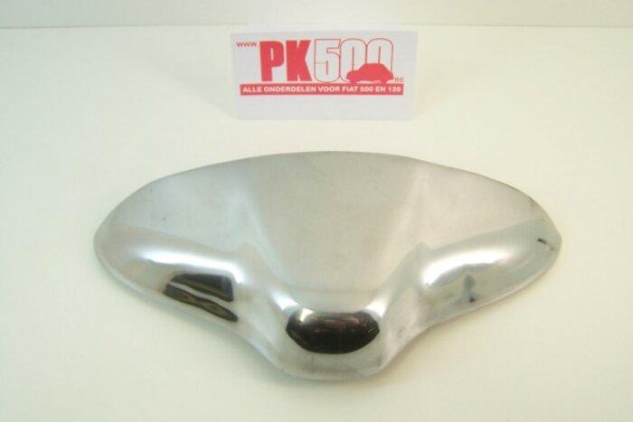 Eclairage plaque d'immatr. aluminium-chromé
