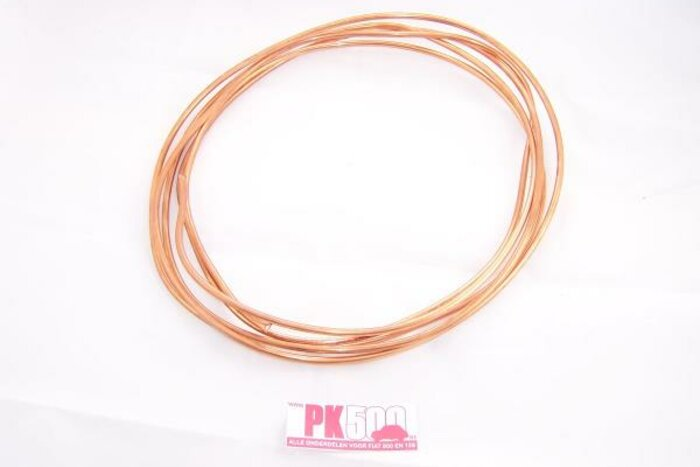 Tuyau d'essence 6mm-3m cuivre
