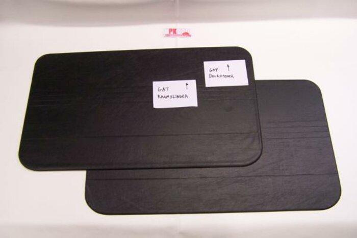 Set panneaux porte noir Fiat500F