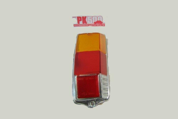 Verre feu arrière plat droite Fiat500