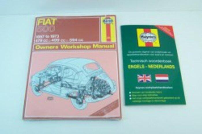 Haynes livre - anglais Fiat500