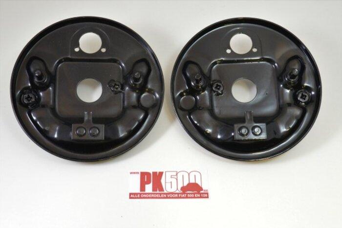 Set flasques de frein avant Fiat500 - Fiat126 1e serie