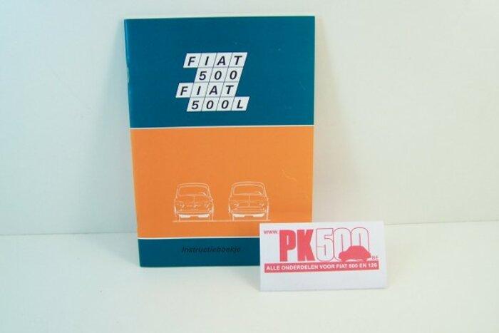 Livre d'instruction - néerlandais Fiat500