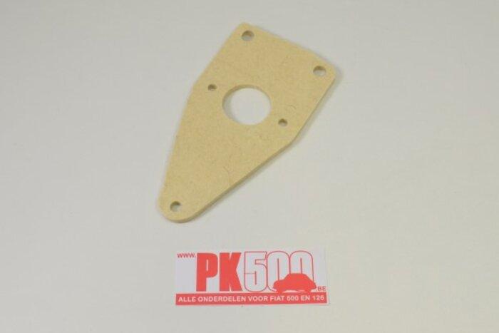 Plaque derrière pédale frein Fiat500NDFL/Gia
