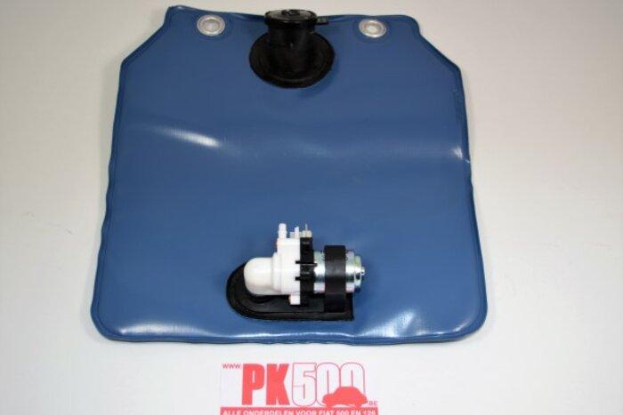 Réservoir lave-glace square avec pompe électr.