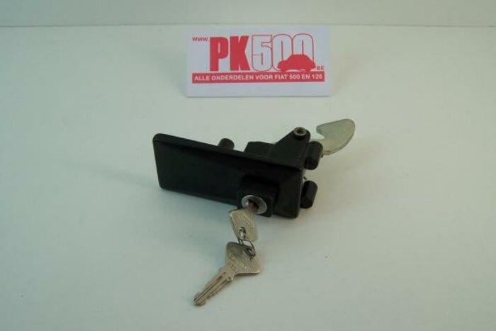 Poignée de capot zamac-noir Fiat126