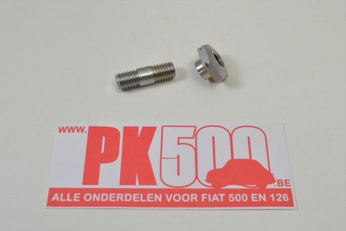 Ecrou et tap armature Fiat500 - Fiat126