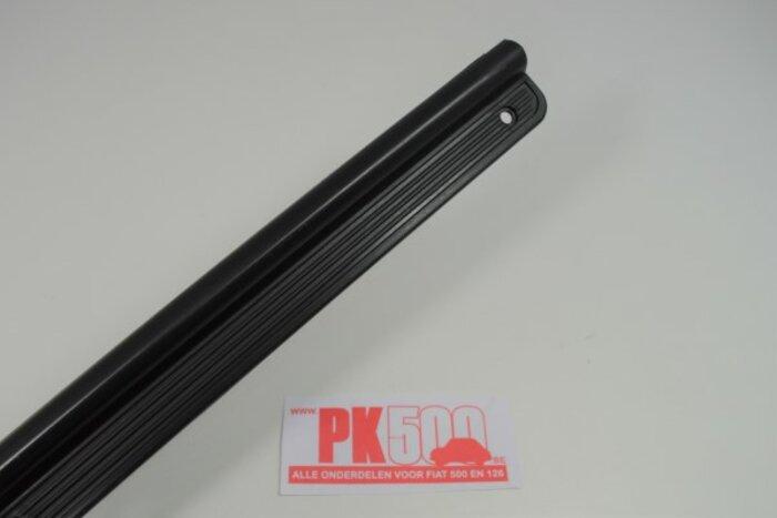 Set seuils de porte plasic/noir Fiat126