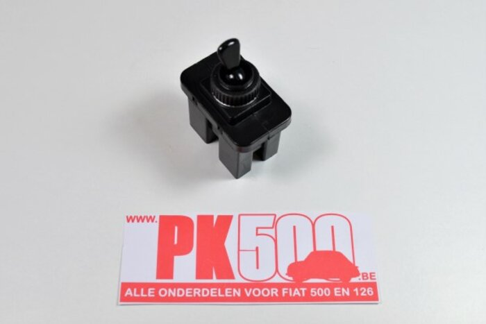 Interrupteur lave-glace noir plastic