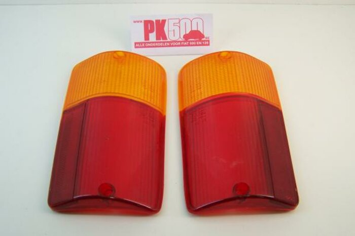 Verres feu arrières orange Fiat126