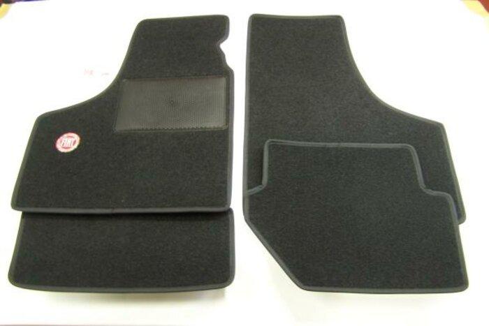 Tapis de sol 'Fiat' noir
