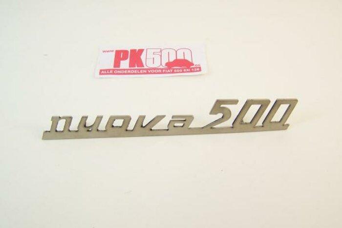 Emblème arrière alu 'Nuova Fiat500'