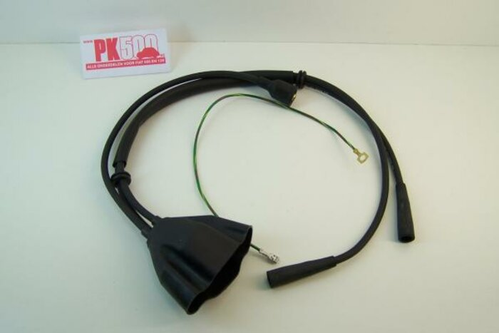 Câbles d'allumage, sil.noir Fiat126