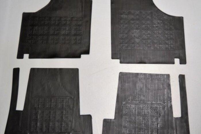 Tapis de sol caoutchouc Fiat500 - Fiat126