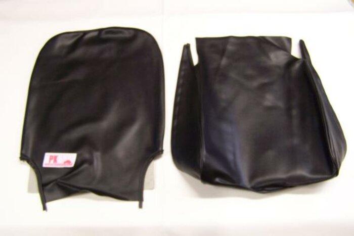 Complete bekledingsset zwart Fiat500R
