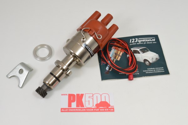 Electronische 123-ontsteking Fiat500 - Fiat126