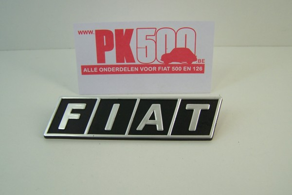 Frontembleem Fiat500R - Fiat126