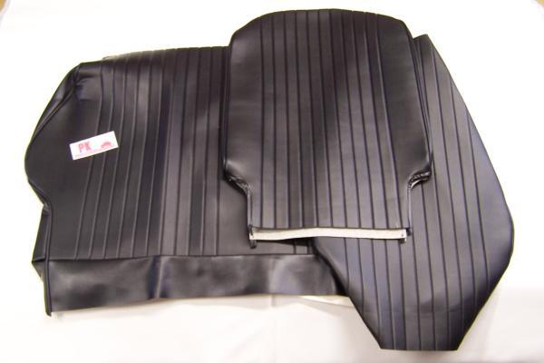 Complete bekledingsset zwart Fiat500L