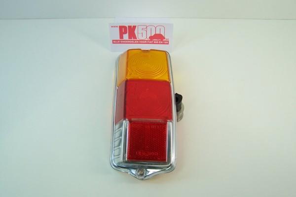 Verre feu arrière ronde gauche Fiat500